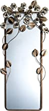 OK Lighting SS-OL-OK-4275MR 36 Inch Allure Wall Plaque Mirror, Brown
