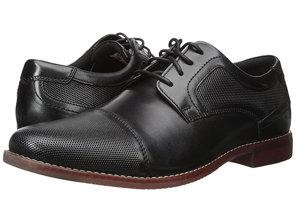 Rockport Style Purpose Perf Cap Toe (Black Leather) Men