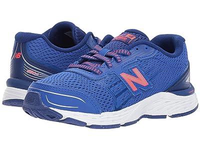 New Balance Kids KR680v5Y (Little Kid/Big Kid) (Pacific/Dynomite) Boys Shoes
