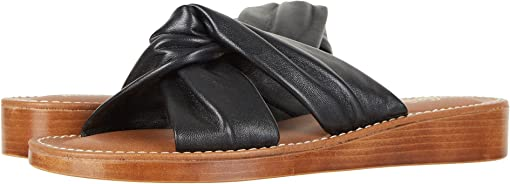 Black Italian Leather