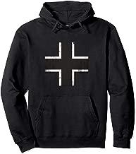 WWII German Military Balkenkreuz Iron Cross Hoodie
