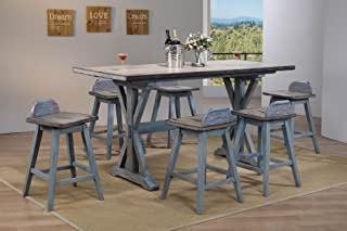 Best amelie ii 6 piece counter height dining set Reviews