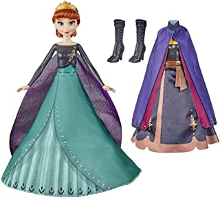 Disney's Frozen 2 Anna's Queen Transformation Fashion Doll with 2 Outfits and 2 Hair Styles, Toy Inspired by Disney's Froz...