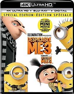 Despicable Me 3   4K + Blu-ray   English