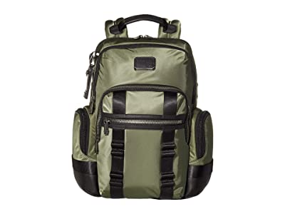 Tumi Alpha Bravo Nathan Backpack (Forest) Backpack Bags