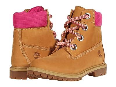 Timberland 6 Heritage Waterproof Convenience Lace Boot (Wheat Full Grain) Women