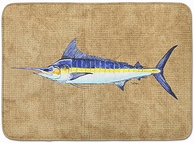 """Caroline's Treasures Blue Marlin Floor Mat, 8818RUG, Multicolor, 19"""" x 27"""""""