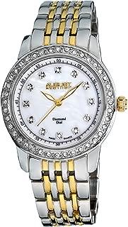 August Steiner Women's Marquess Diamond and Crystal Swiss Quartz Bracelet Watch
