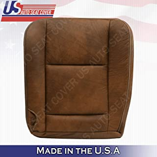 Front Leather Seat Cove 2002 2003 2004 2005 2006 2007 Fits Ford F250 F350 King Ranch (Passenger Bottom)