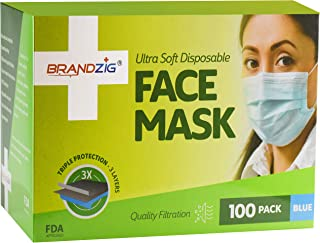 100 disposable face mask