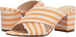 Orange/Ivory Seafarer Canvas