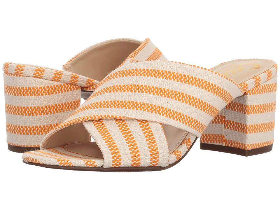 Circus by Sam Edelman Stevie (Orange/Ivory Seafarer Canvas) Women