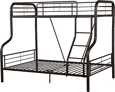 ACME Furniture 37610 2 Count Cairo Bunk Bed, Twin/Full, Sandy Black