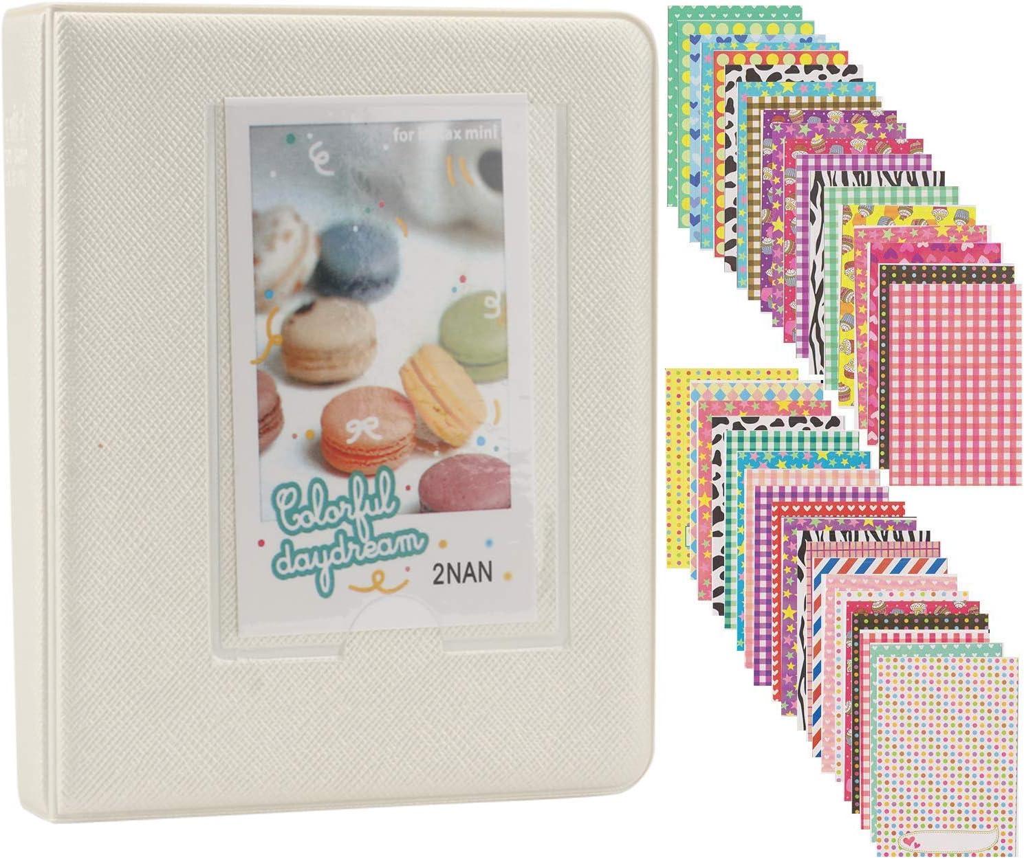 Alohallo Mini Photo Album Compatible 1 Instax with Fujifilm Max 47% Chicago Mall OFF