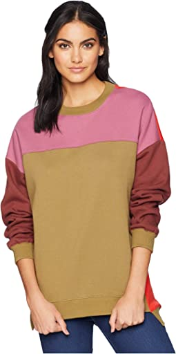 Multicolored Sweatshirt in Boozy Rainbow