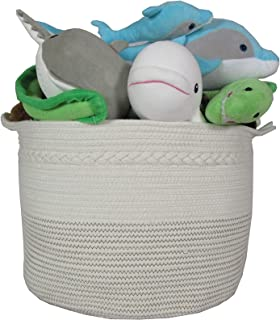 Best large coiled rope basket Reviews