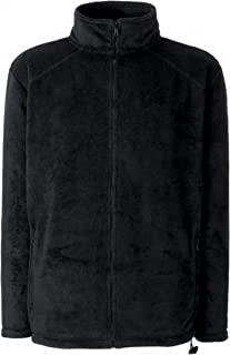 Fruit of the Loom Men's Zip front Fleece