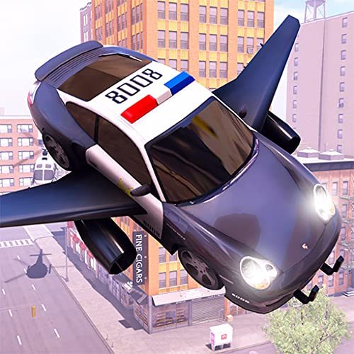 Crime Town Flying Police Car Chase Simulator 2020