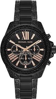 Michael Kors Women`s Wren Chronograph Stainless Steel Watch