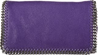 Stella Mccartney women's cross-body messenger shoulder bag shaggy deer purple