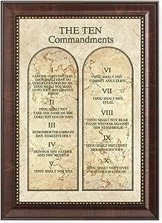 kjv ten commandments poster