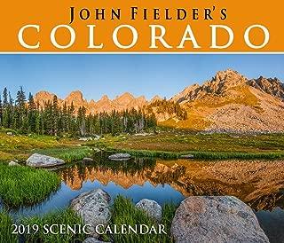 John Fielder's 2019 Colorado Scenic Wall Calendar