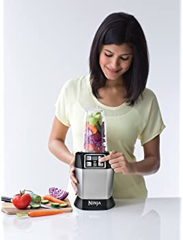 Nutri Ninja Personal Blender with 1000-Watt Auto-iQ Base to Extract Nutrients for Smoothies, Juices and Shakes and 18...
