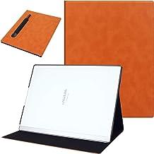 KuRoKo Slim Lightweight Book Folios Case Cover for Remarkable 2 10.3 inch Digital Paper(2020 Released) (Brown)