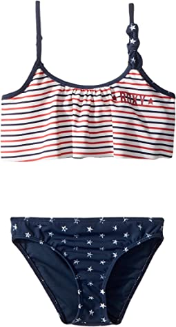 Roxy Kids - Surfing USA Flutter Swim Set (Toddler/Little Kids)