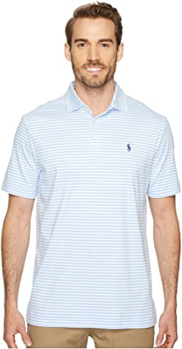Polo Ralph Lauren - Striped Pima Polo Short Sleeve Knit