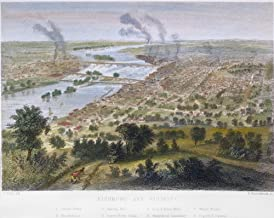 View Of Richmond C1860 Nview Of Richmond Virginia Just Before The Civil War Colored Engraving C1860 Poster Print by (24 x 36)