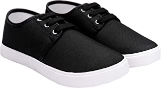 Earton Casual Shoes, Outdoor Boots,Best Rates, Canvas Shoes,Sneakers Shoes, Loafers Shoes, Shoes, Trekking Shoes, Sports Shoes,Comfortable for Kids (Black-3054)