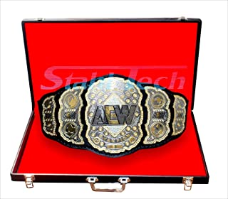 stahl tech AEW Wrestling Champion Title Belt (Replica) Special Price Offer Will end by June 30