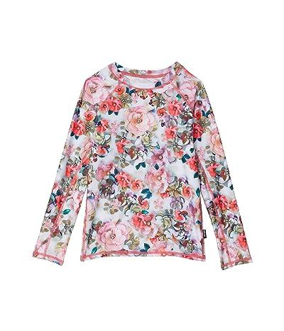 Molo Neptune Long Sleeve (Little Kids/Big Kids) (Sequin Flowers) Girl