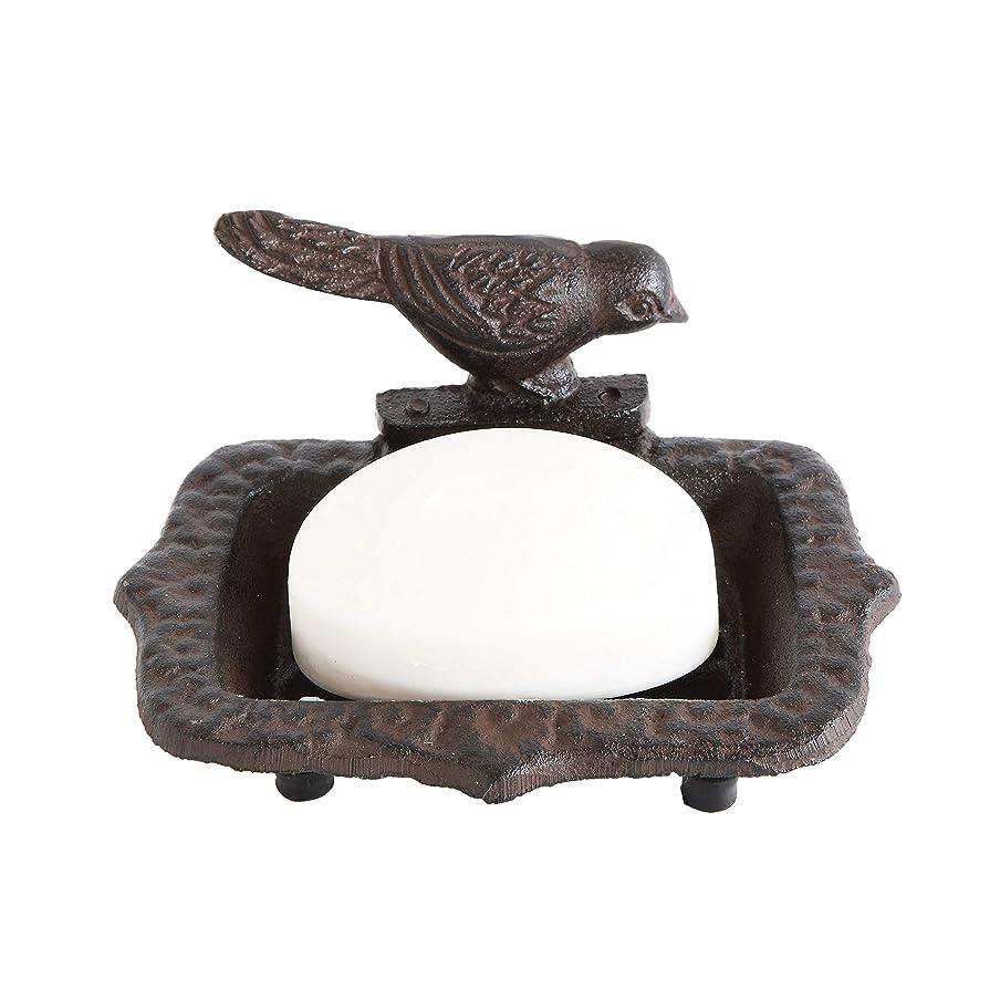 アグネスグレイ優先空気素朴なスタイル鳥ソープディッシュ