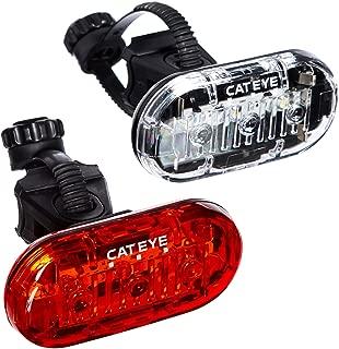 CAT EYE - Omni 3 LED Safety Bike Lights with Mounts