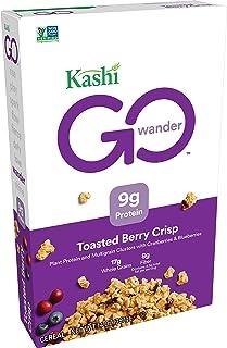 Kashi Go, Non-Gmo Vegan Cereal, Toasted Berry Crisp, 14 oz