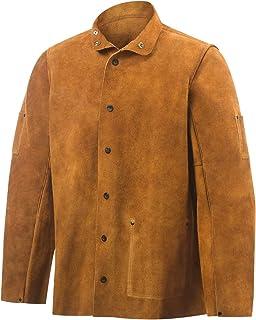 Steiner 9215-3X 30-Inch Jacket Weld-Rite Premium Brown Split Cowhide 3X-Large