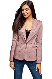 Amazon.es: chaqueta americana mujer rosa