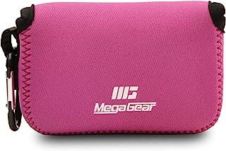 MegaGear MG817 Estuche para cámara fotográfica Carcasa compacta Negro Rosa Blanco - Funda (Carcasa compacta Canon Powe...