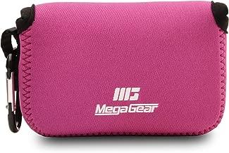 MegaGear MG807 Ultra Light Neoprene Camera Case compatible with Fujifilm FinePix XP140  XP130  XP120  XP90 Hot Pink