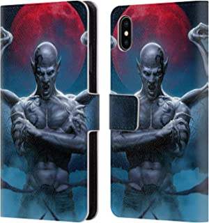 Christos Karapanos Horror 2 Leather Book Wallet Case Cover For Samsung Phones 2 Attractive Designs; Cell Phone Accessories Cases, Covers & Skins