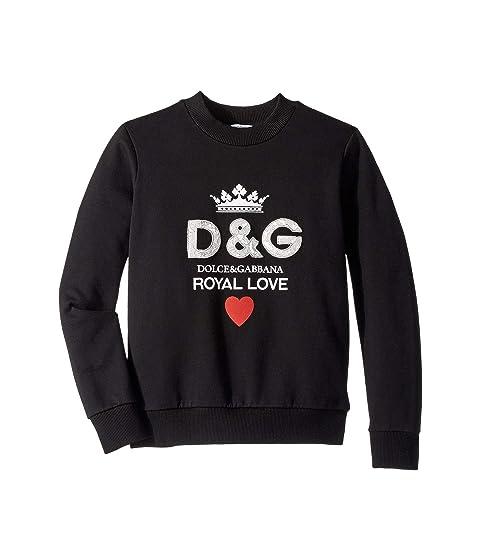 Dolce & Gabbana Kids Royal Love Sweatshirt (Big Kids)