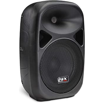 "LyxPro SPA-8 Compact 8"" Portable PA System 100-Watt RMS Power Active Speaker System Equalizer Bluetooth SD Slot USB MP3 XLR 1/4"" 1/8"" 3.5mm Inputs"