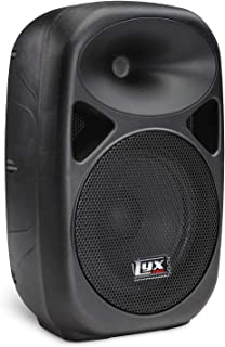 "LyxPro SPA-8 Compact 8"" Portable PA System 100-Watt RMS Power Active Speaker System.."