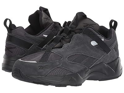 Reebok Lifestyle Aztrek 96 Adventure (True Grey/Black/Rose Red) Shoes