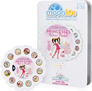 Moonlite - Princesses Wear Pants Story Reel for Moonlite Storybook Projector, for Ages 3 and Up