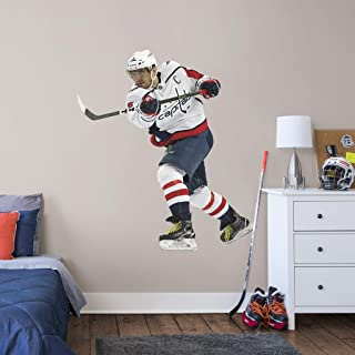 FATHEAD NHL Washington Capitals Alex Ovechkin Officially Licensed Removable Wall Decal, Multicolor, Life Size