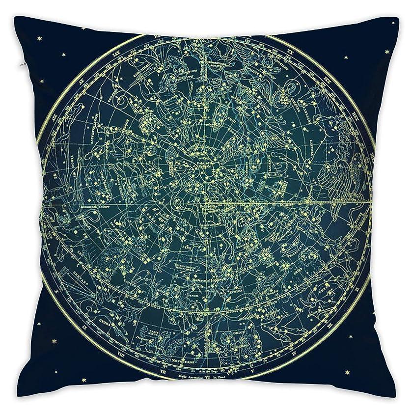 起業家助けになる管理します北の星空の星座柔らかく快適なホールド枕カバークッション投げ枕家の装飾的な枕カバー18