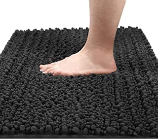 Yimobra Original Luxury Chenille Bath Mat, 31.5 X 19.8 Inches, Soft Shaggy and Comfortable, Large Size, Super Absorbent an...
